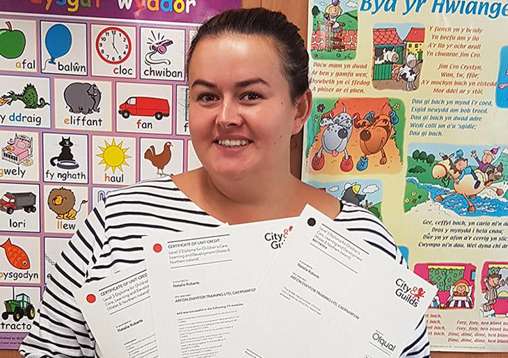 Natalie's Diploma in Children's Care